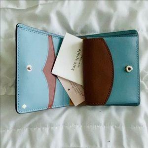 Kate Spade Wallet.- Dusty Blue
